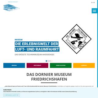 Das Luft- und Raumfahrtmuseum am Bodensee - Dornier Museum Friedrichshafen