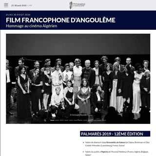 Film Francophone d'Angoulême - Festival du Film Francophone d'Angoulême