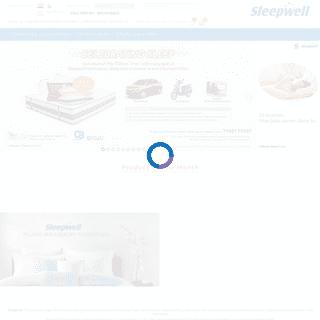 Sleepwell mattresses - India's leading mattress brand.