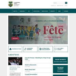ArchiveBay.com - cggs.act.edu.au - Canberra Girls Grammar School