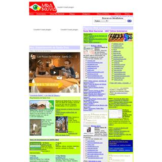 MIRA BOLIVIA - Sitios del departamento de SANTA CRUZ. Belleza y Moda, Bienes raíces, Buscadores