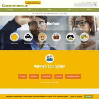 ArchiveBay.com - konsumenternas.se - Konsumenternas.se – oberoende vägledning om bank och försäkring - konsumenternas.se