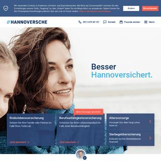 Hannoversche Versicherung - Besser Hannoversichert.