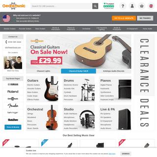 Gear4music - Shop Music Equipment & Musical Instruments