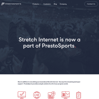 Stretch Internet is Part of PrestoSports - PrestoSports