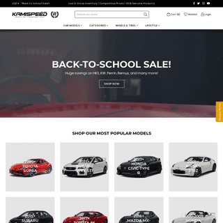 High Performance Auto Parts for Japanese Sport Compacts – KamiSpeed.com