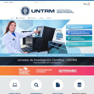 ArchiveBay.com - untrm.edu.pe - Universidad Nacional Toribio Rodríguez de Mendoza de Amazonas - UNTRM