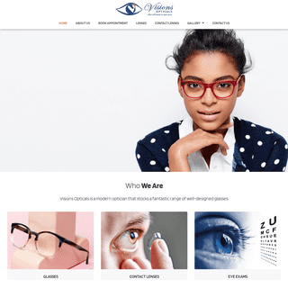 Visions Opticals - The Ultimate in Eye Care