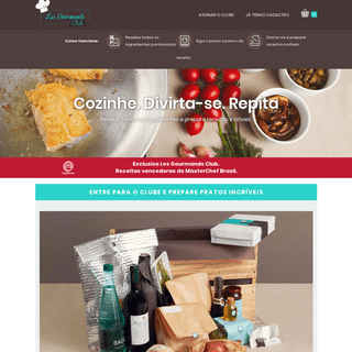 ArchiveBay.com - lesgourmandsclub.com - Les Gourmands Club - Seja você o Chef!