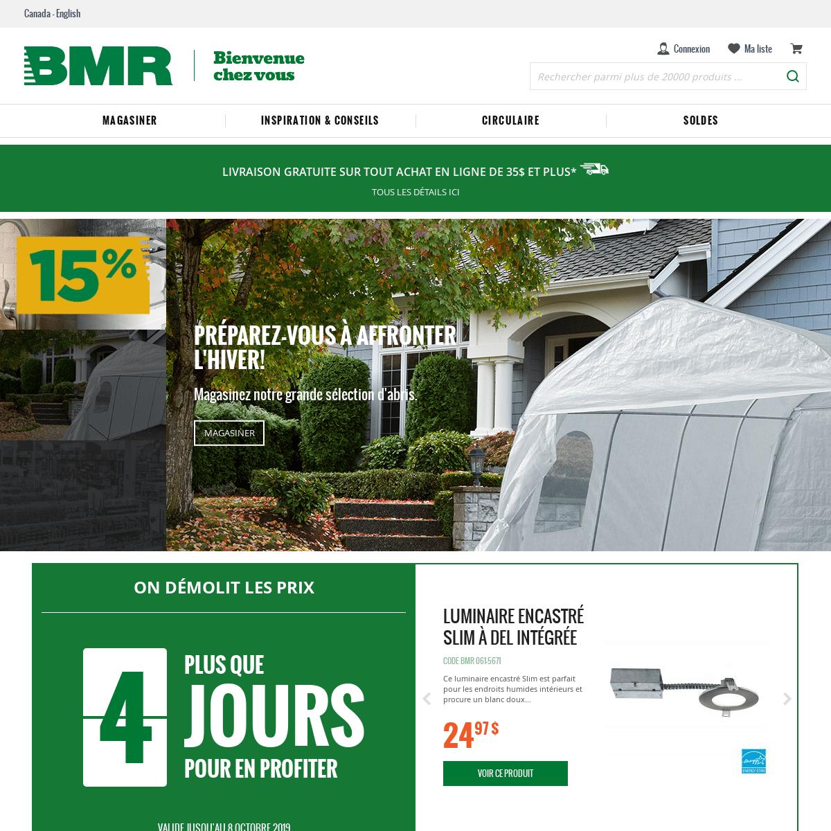 Bienvenue Chez Vous Groupe Bmr