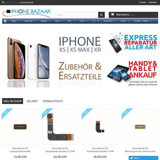 Handyzubehör und Ersatzteile Online Shop - Phonebazaar