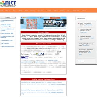 A complete backup of nictcsc.com