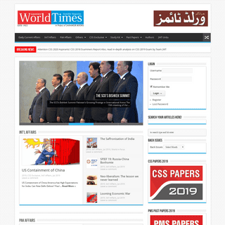 ArchiveBay.com - jworldtimes.com - Jahangir's World Times - First Comprehensive Magazine for students-teachers of competitive exams and general readers as well.