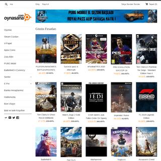 Oynasana.com - Online Mağaza