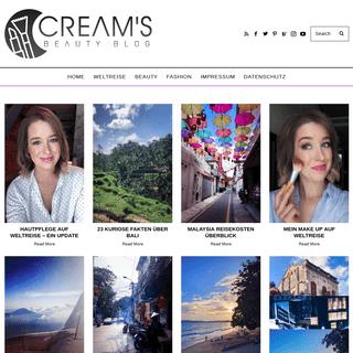 Start - Cream's Beauty Blog