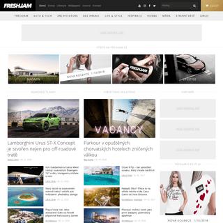 FRESHJAM MAG — český lifestyle magazín