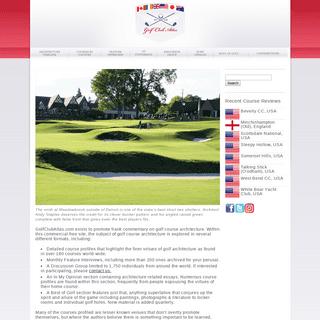 GolfClubAtlas.com - The Study of Golf Course Architecture