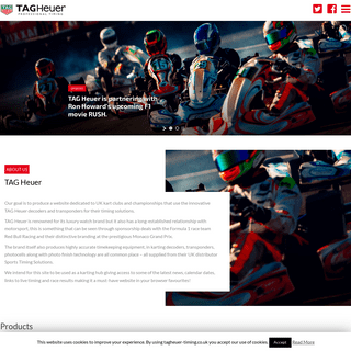 Experience Karting Live Timing with Tag Heuer Live Timing