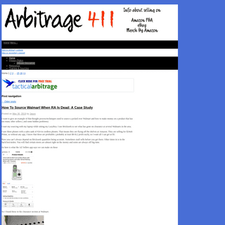 Arbitrage 411 - Tips and Tricks For Online Reselling
