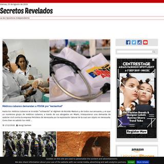 Noticias Políticas de Venezuela - SecretosRevelados.net