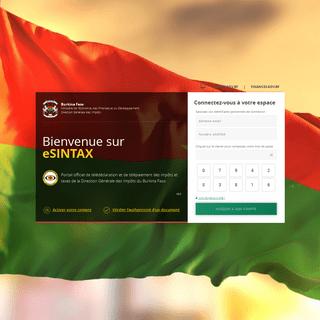 eSINTAX Burkina Faso - Télédéclaration et télépaiement des impôts