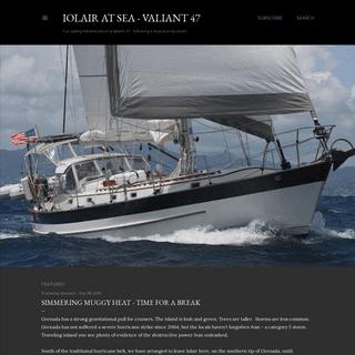 Iolair at Sea - Valiant 47