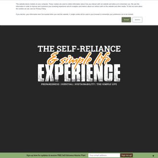 Self Reliance Experience - Preparedness, Survival & Sustainability