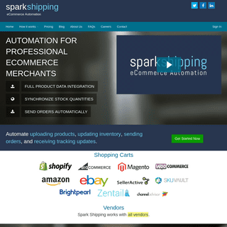 Dropship Automation Software - Automate Inventory, Orders & Tracking