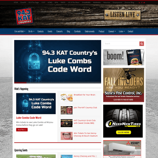 Home - 94.3 KAT Country!