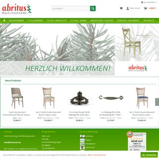 Massivholzmöbel günstig kaufen - große Auswahl an massiven Holzmöbeln bei abritus - abritus Massivholzmöbel