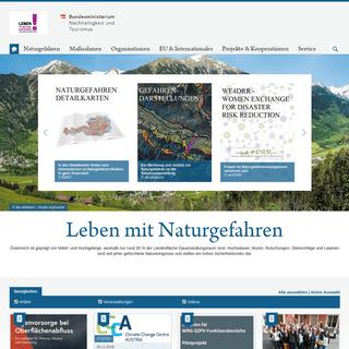 ArchiveBay.com - naturgefahren.at - Leben mit Naturgefahren,