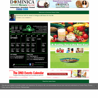 Entry Page - Dominica News Online