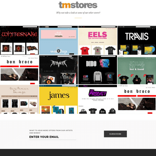 TM Stores - Direct to Fan Platform for the Music Industry