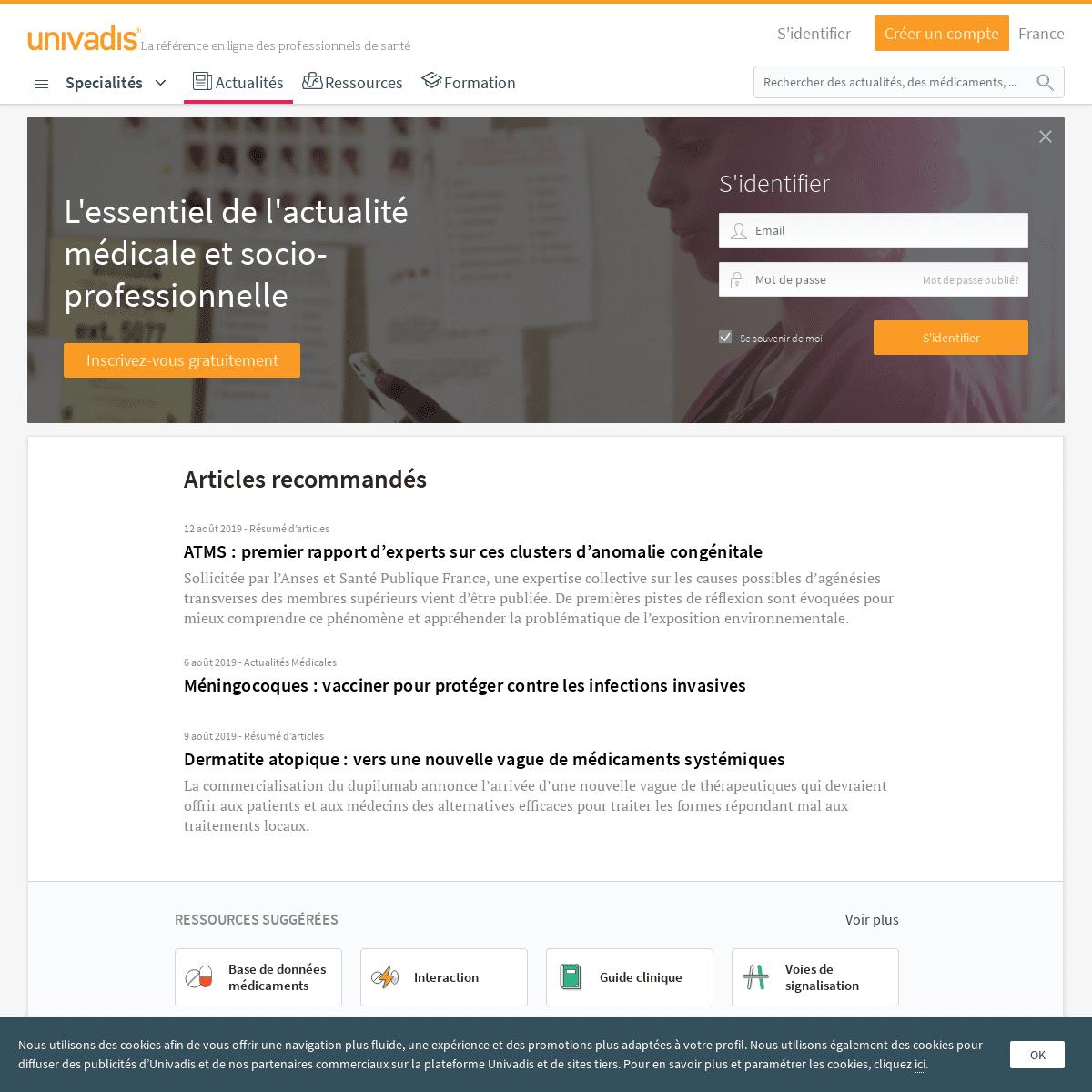 ArchiveBay.com - univadis.fr - Dernières actualités médicales - Univadis