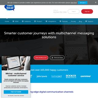 Textlocal- Bulk SMS Marketing Service for Business - Send SMS Online