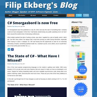 Filip Ekberg's Blog