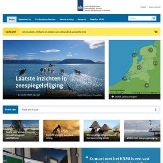 KNMI - Koninklijk Nederlands Meteorologisch Instituut