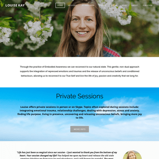 ArchiveBay.com - louisekay.net - LOUISE KAY - Open to Truth and Embodied Awareness