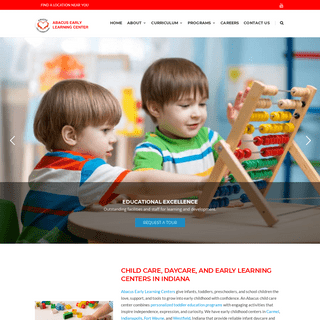 Abacus Early Learning Center - Daycare, Learning, & Child Care Centers