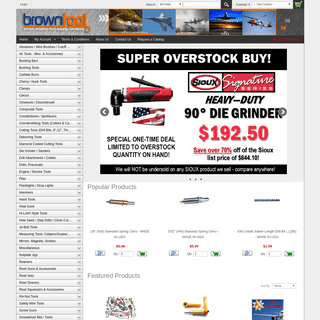 ArchiveBay.com - browntool.com - Brown Aviation & Aircraft Tools