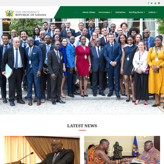 Home - The Presidency, Republic of Ghana