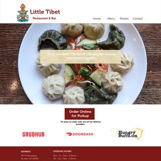 Best Tibetan Restaurant and Bar in Boulder - Little Tibet Restaurant