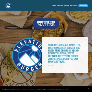 ArchiveBay.com - elevationburger.com - Elevation Burger