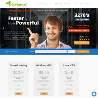 ArchiveBay.com - dewlance.com - Dewlance® Best Web Hosting - Reseller Hosting and Linux VPS