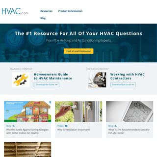 HVAC, Heating and Air Conditioning Made Easy - HVAC.com