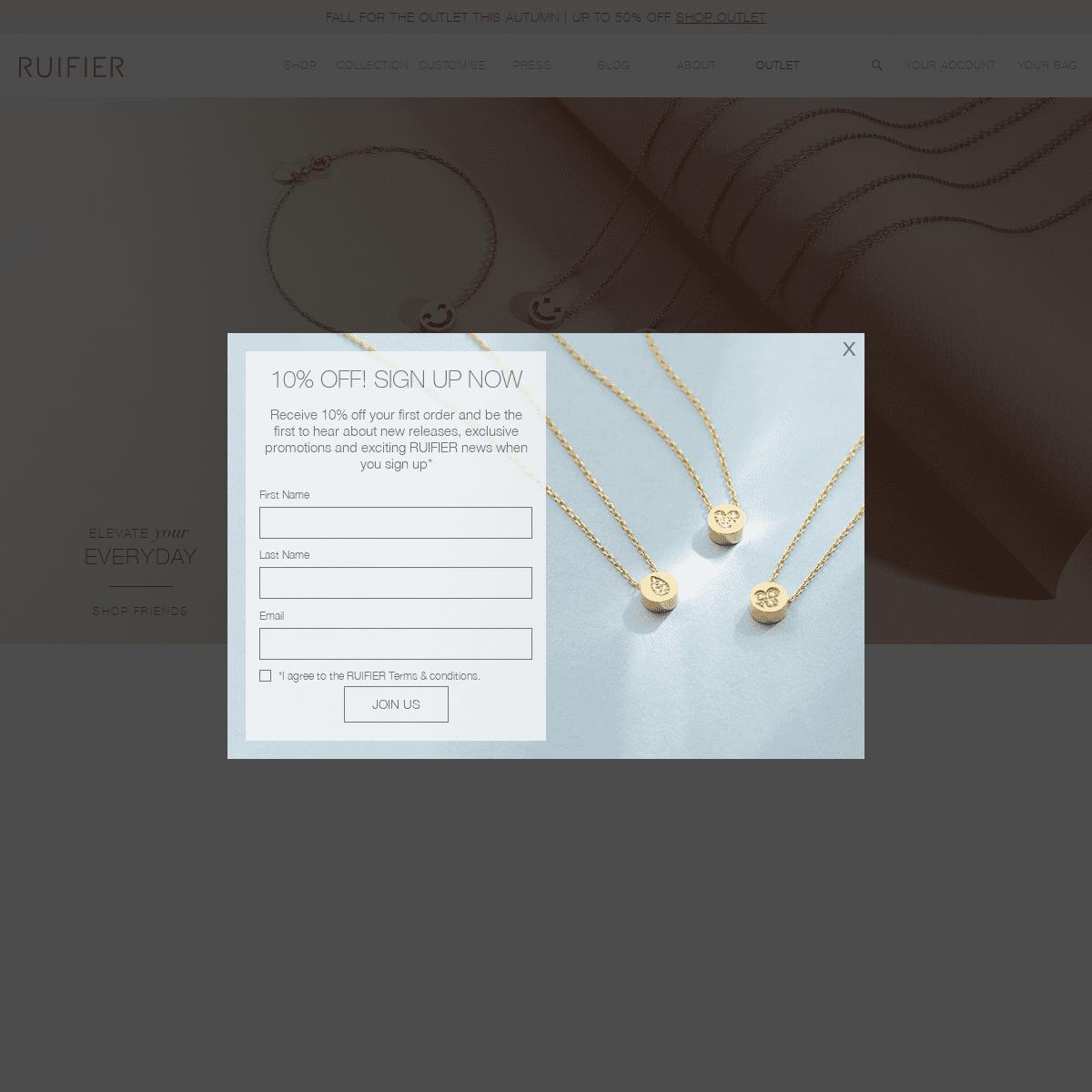 RUIFIER - British Fine and Demi-Fine Jewellery - London