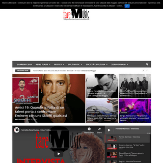 FAREMUSIC - Faremusic.it è un portale di informazione musicale italiana ed internazionale con news, recensioni, interviste, vid