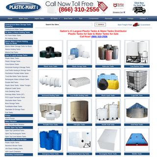 Water Tanks, Plastic Tanks, Poly Tanks, Storage Tanks