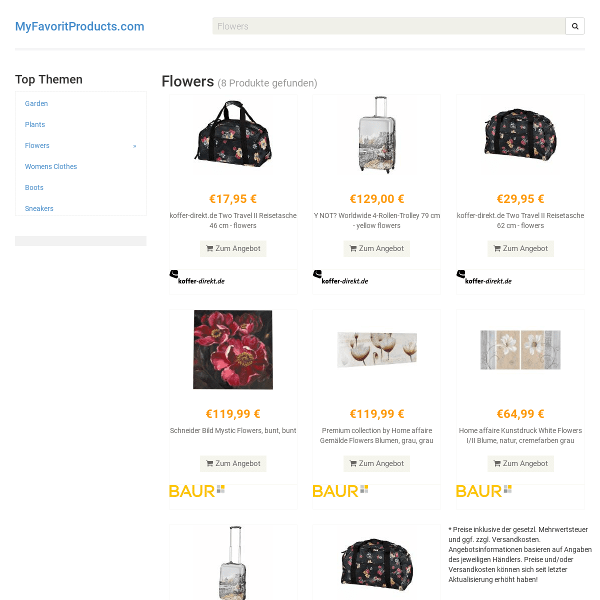 MyFavoritProducts.com