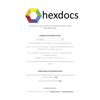 HexDocs